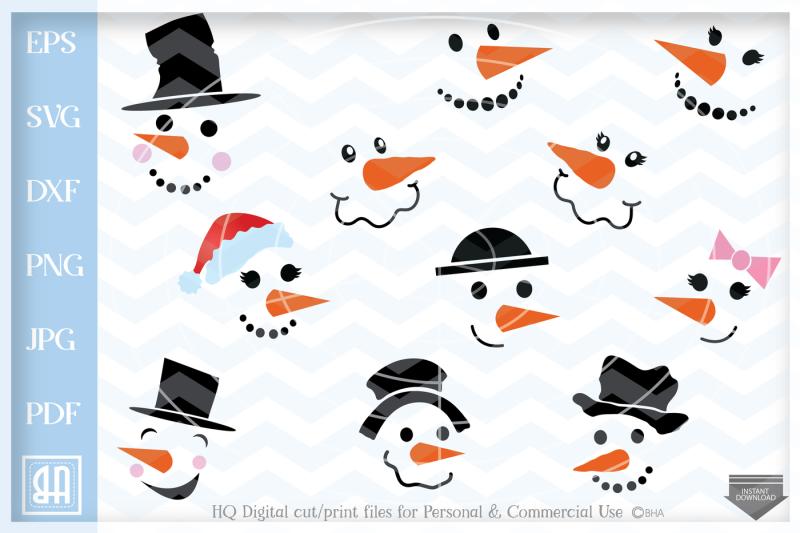 Free Snowman Svg.