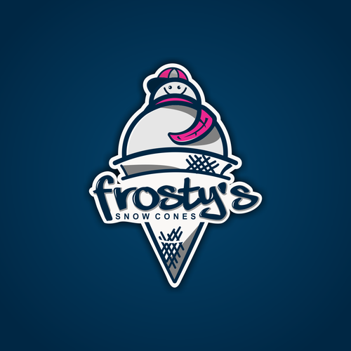 In need of a logo for Frosty\'s Snow Cones.