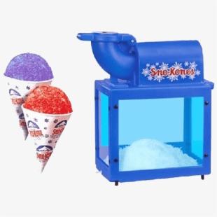 Snow Cone Machine , Transparent Cartoon, Free Cliparts.
