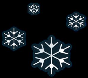 Animated Snowfall Clipart.