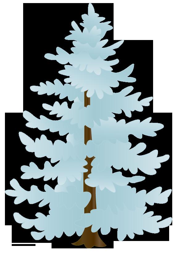 Snow Tree Clipart.