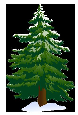 Tree clip art snowy pine tree clipart 4 clipartbold.