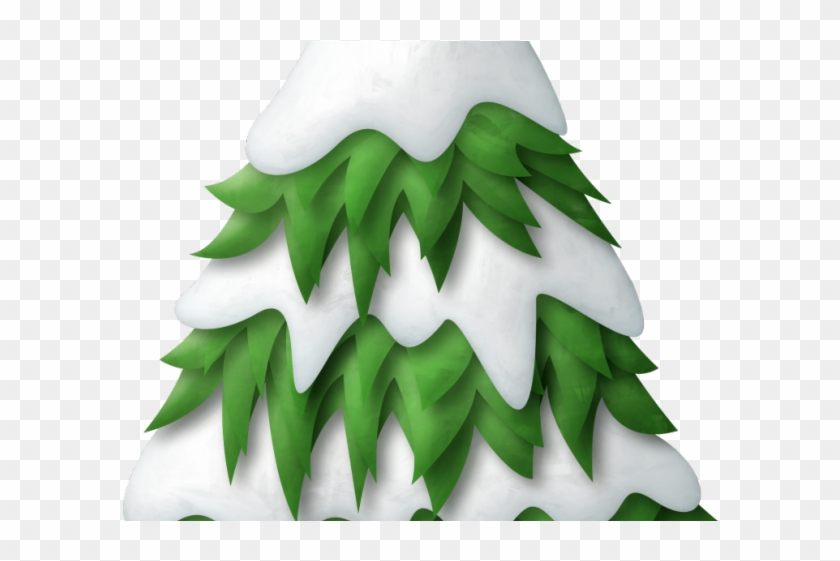 Pine Clipart Snow Tree.