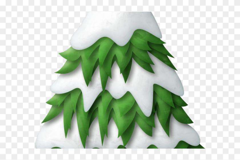 Pine Clipart Snow Tree.