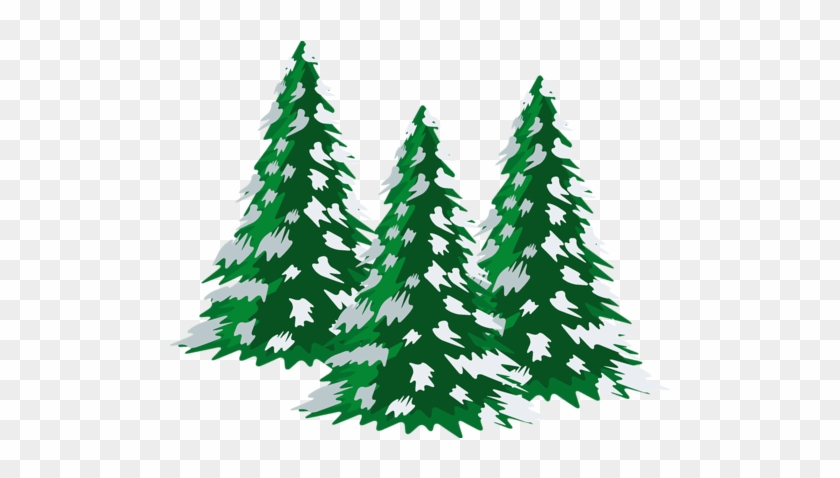 Pine Tree Clipart snow covered tree 9.