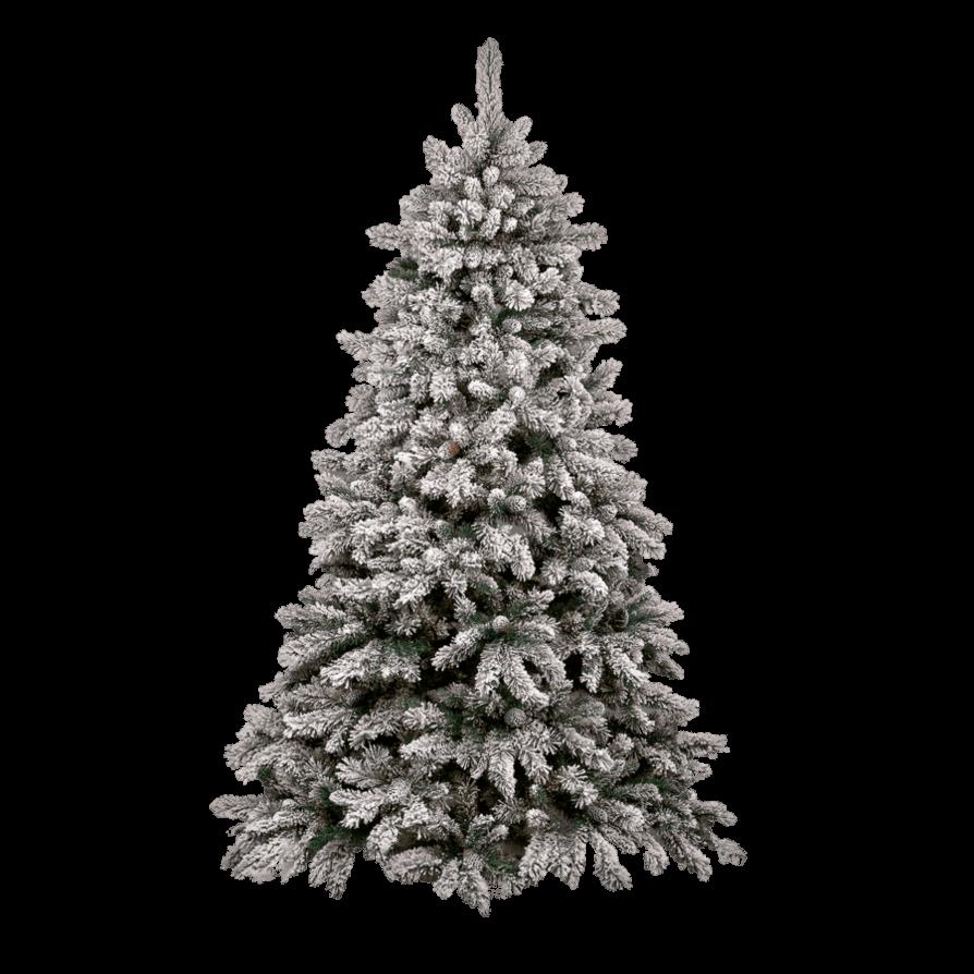 Christmas Tree Snow transparent PNG.