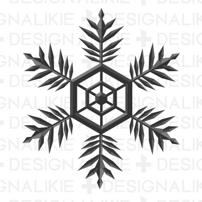Illustration snow crystals|Pictures of clipart and graphic design.