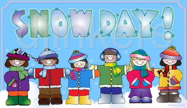 10+ Snow Day Clip Art.