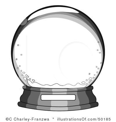 Christmas Snow Globes Clip Art Snow globe clip art.