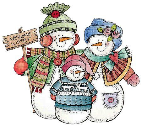 70+ Snowman Family Clipart.