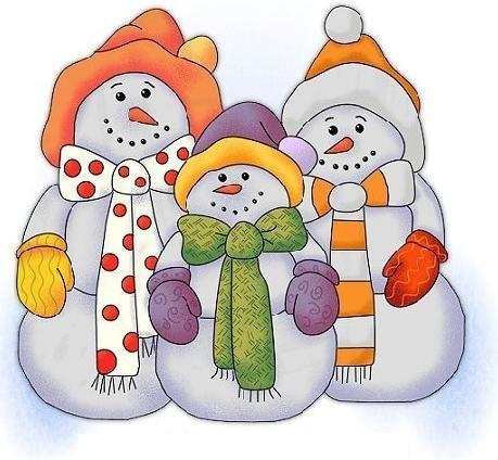 Snow Family Snowman Penguins Winter Teaching Units.