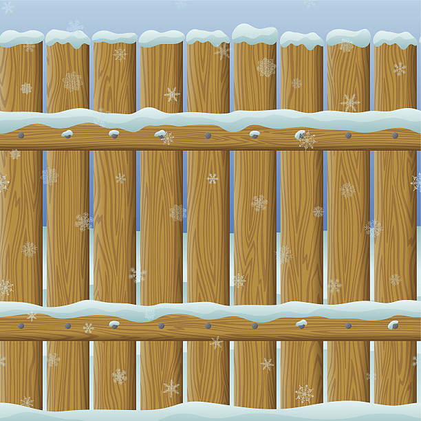 Snow Fence Clip Art, Vector Images & Illustrations.