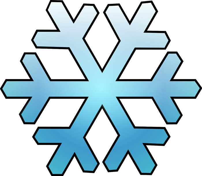 32+ Clip Art Snow Flakes.