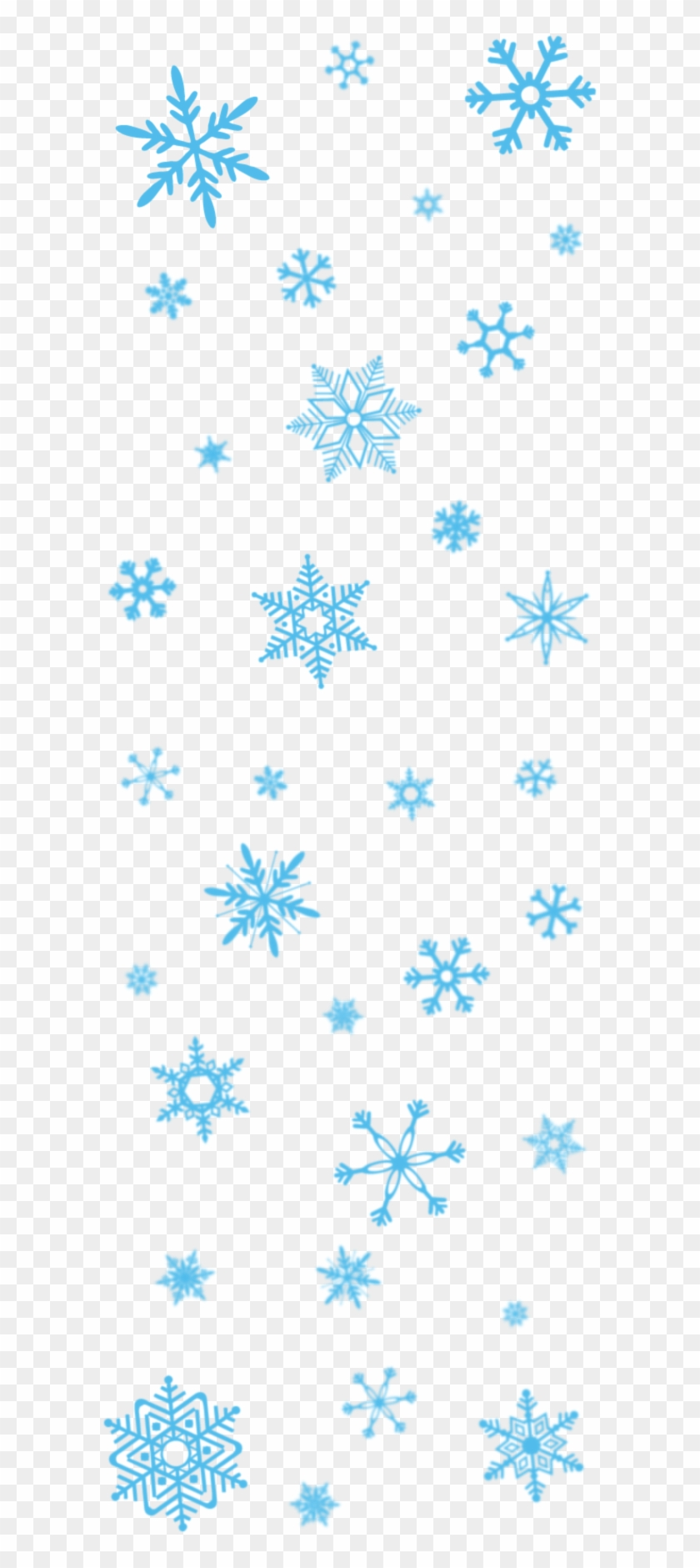 Snowflakes Transparent Png Pictures.