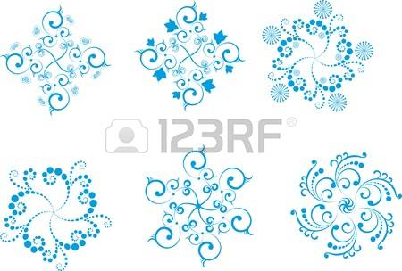 13,242 Snow Flowers Stock Vector Illustration And Royalty Free.