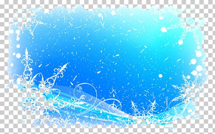 Snowflake Pattern, Ice and snow border, snow frame.