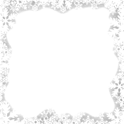 Frame Snow Png Vector, Clipart, PSD.