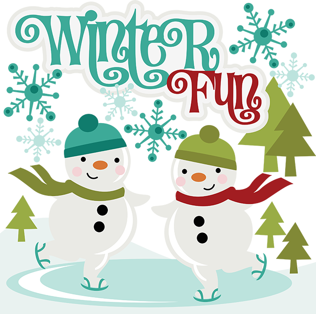 Clipart Winter Fun.