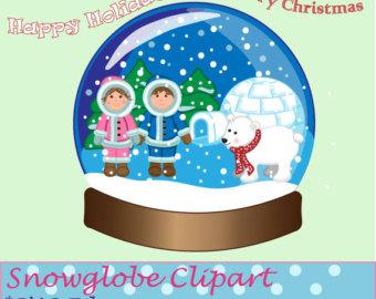 Snow Globe Clip Art.