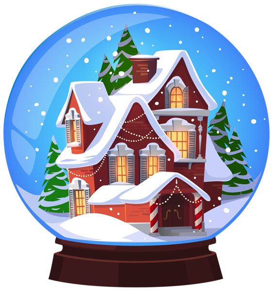 Winter Snow Globes.