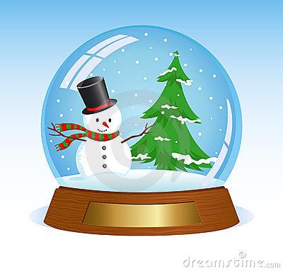 Snow globe clipart free.