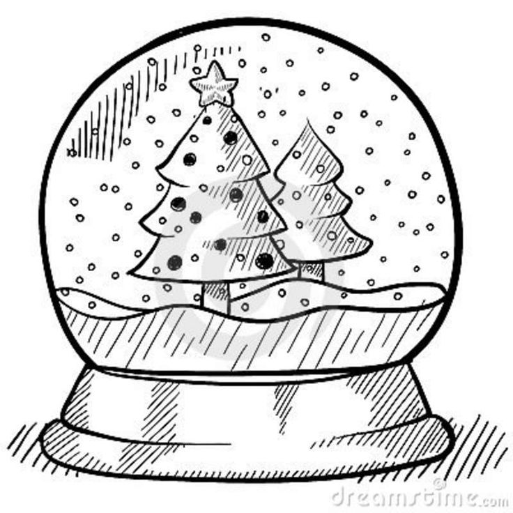 72 best images about Winter Snow Globe Illustrations on Pinterest.