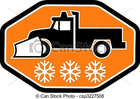 snow plow cartoon clipart #20