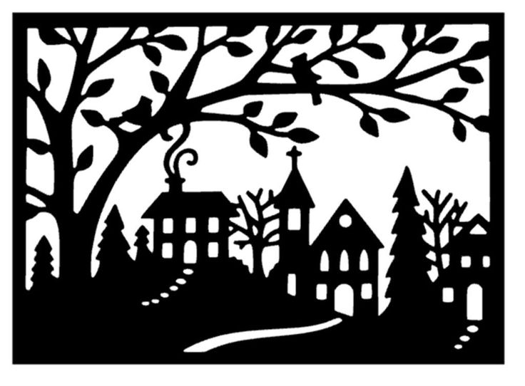 Christmas Snow House Coloring Pages Illustration Cartoon Clipart 17 Best Images About Winter Window Scene Ideas On Pinterest