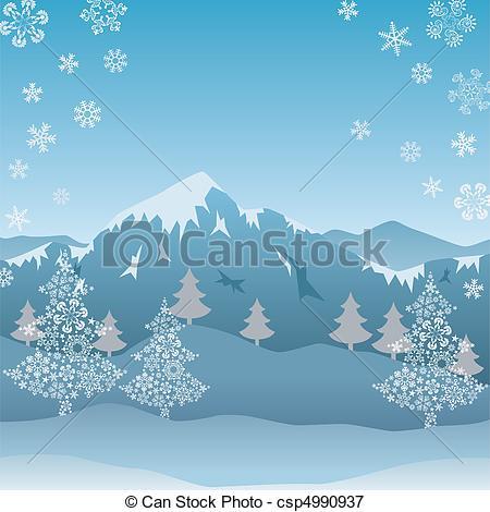 snow clip art #110.