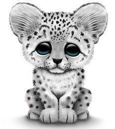 Amur Leopard clipart snow leopard #5.