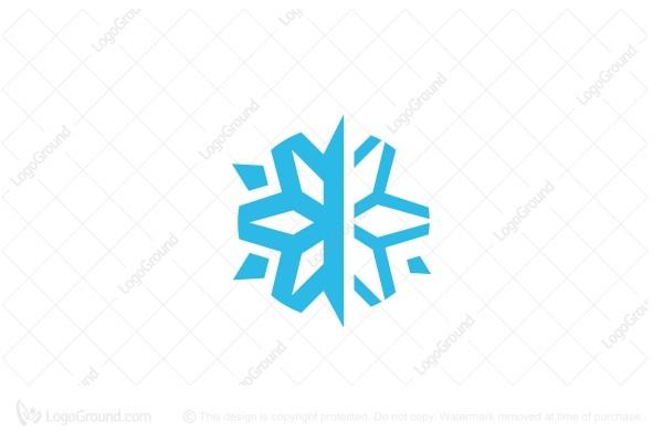 Exclusive Logo 82101, Snow Flake Logo.