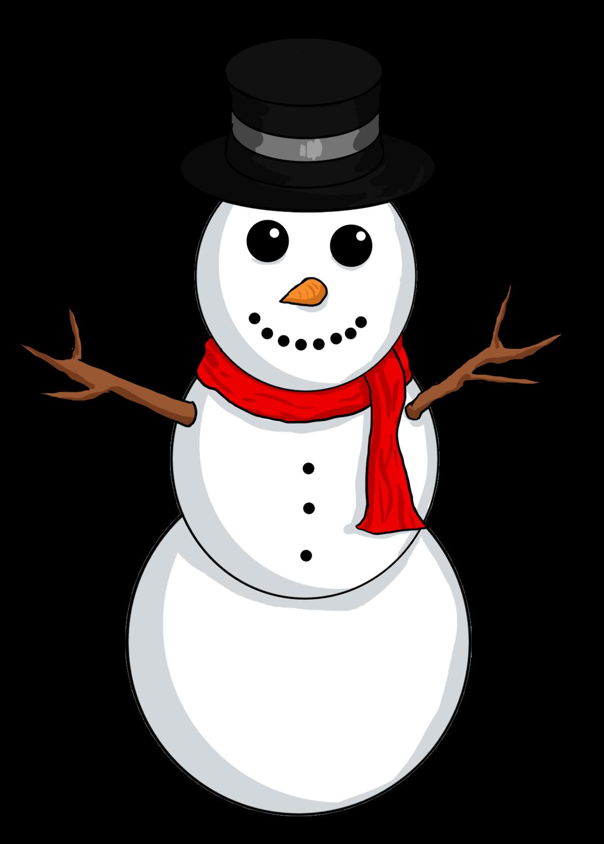 Snowman Hat Clipart.