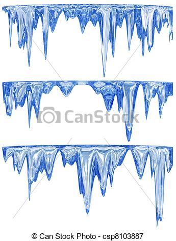Melting Snow Clip Art.