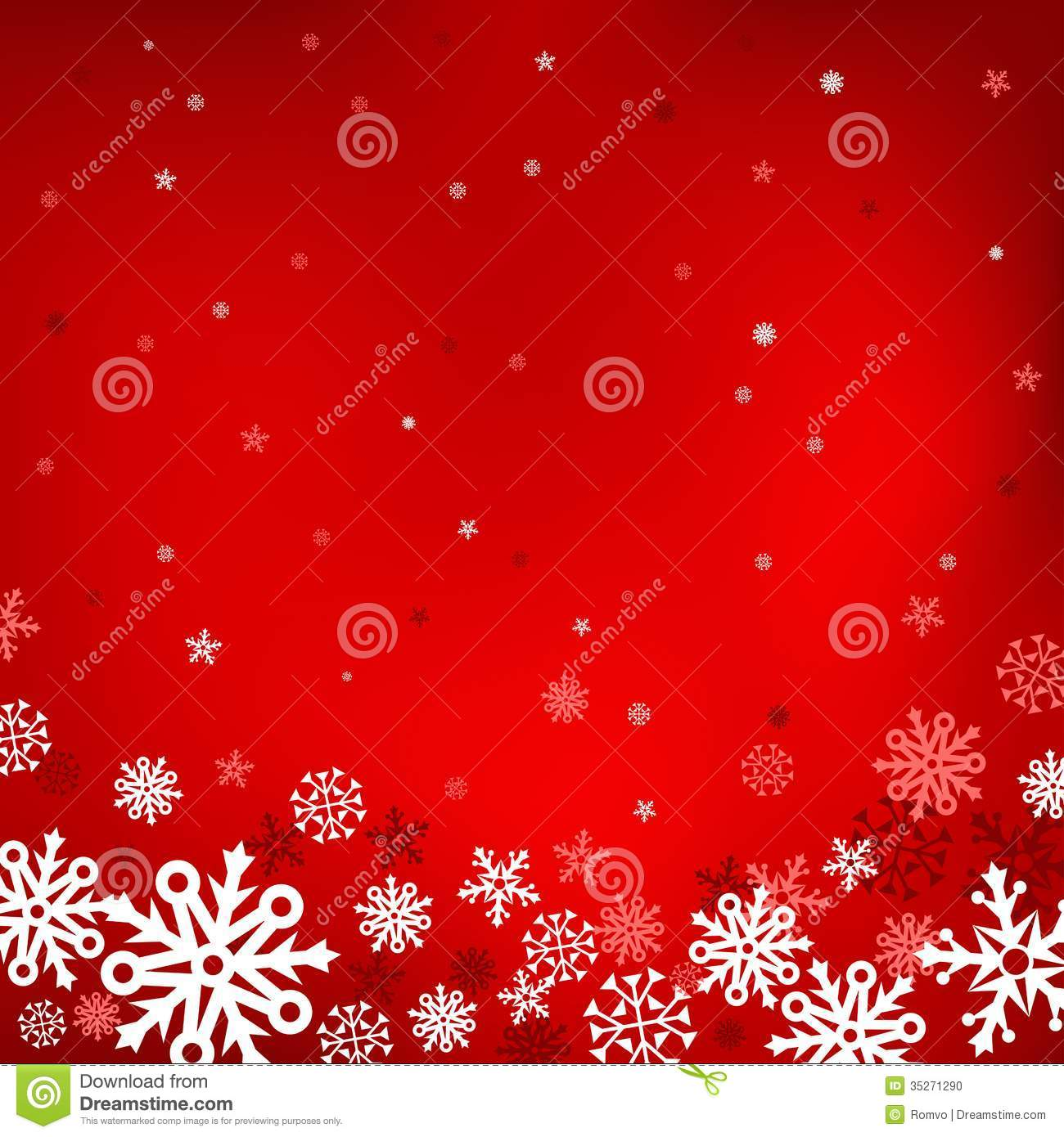 Red Snow Mesh Background Stock Photo.