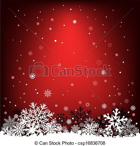 Vector Clipart of dark red snow mesh background.