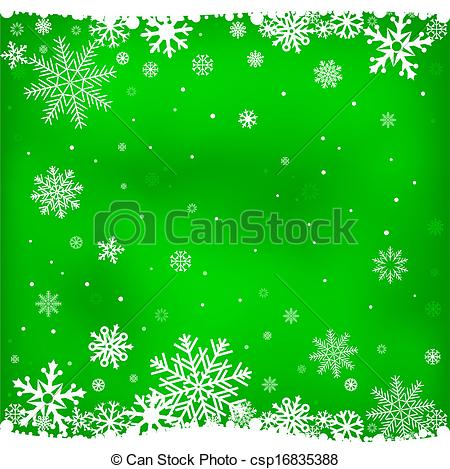 Vector of green snow mesh background.