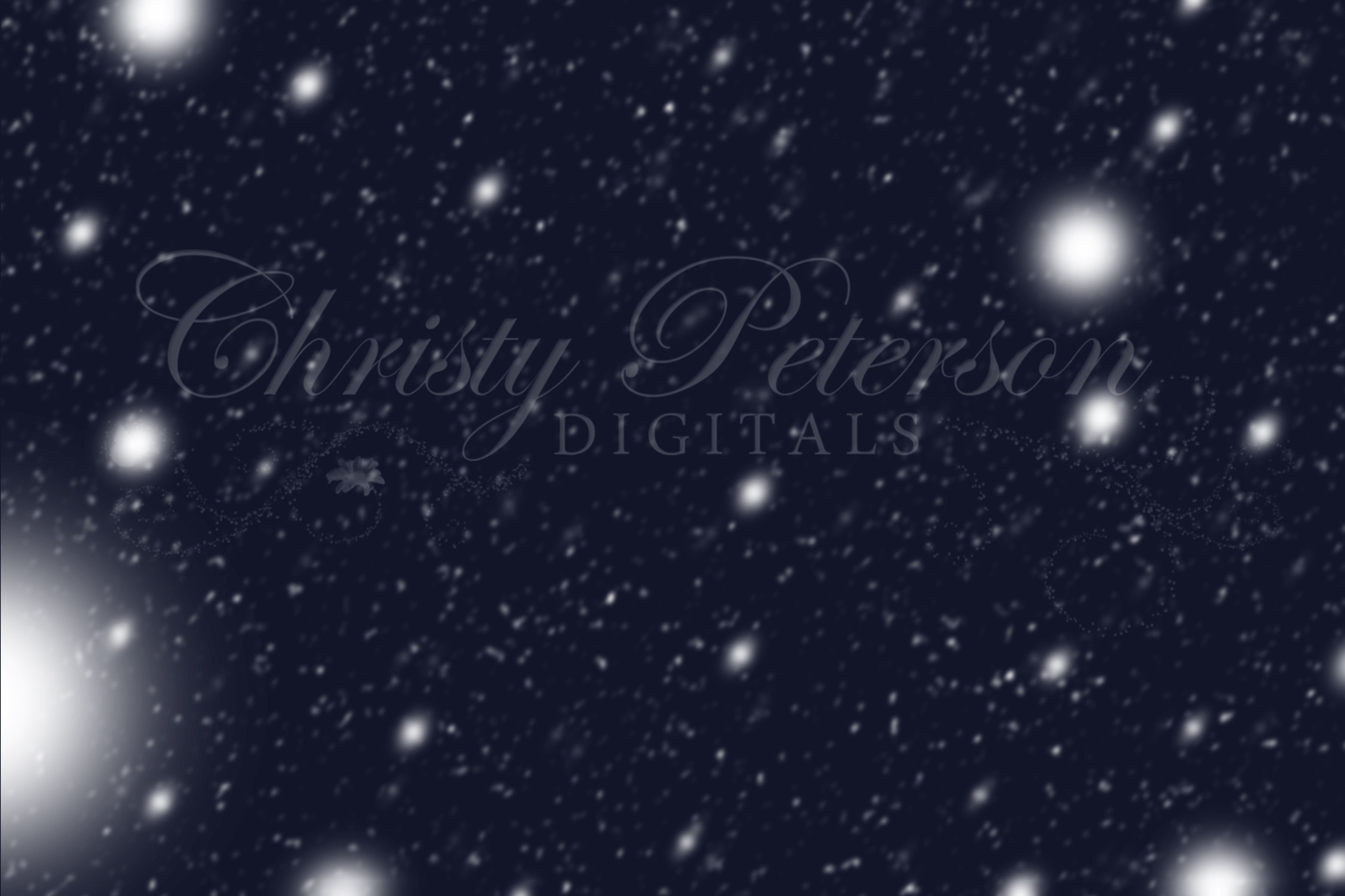 6 SNOW and FROST Digital PNG Overlays.