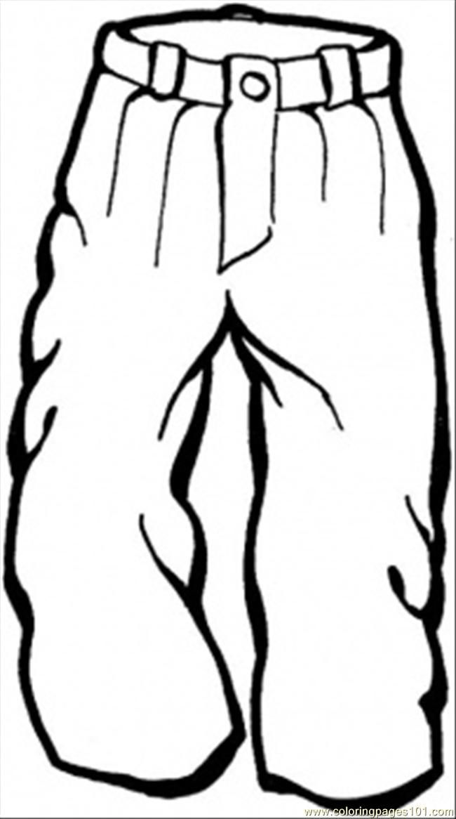 Snow Pants Clipart Black And White.
