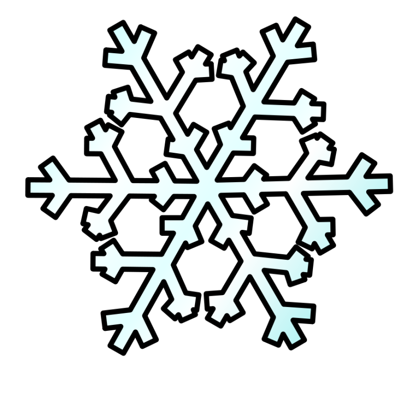 Snow clipart free images 2.