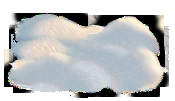 Transparent Snow Pile PNG Picture.
