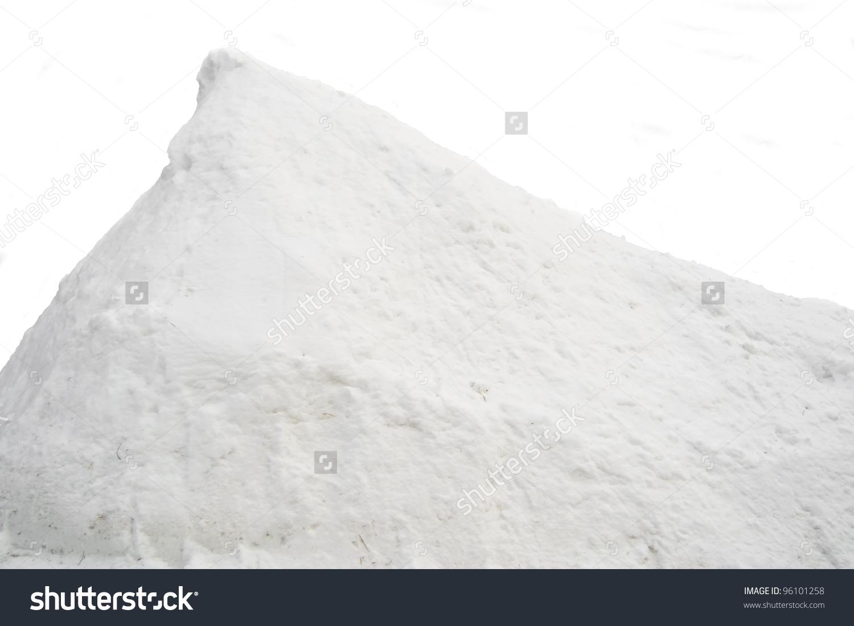Pile Snow Stock Photo 96101258.