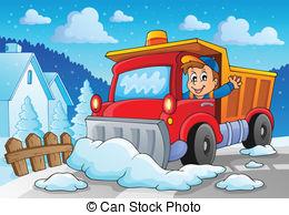 snow plow cartoon clipart #19