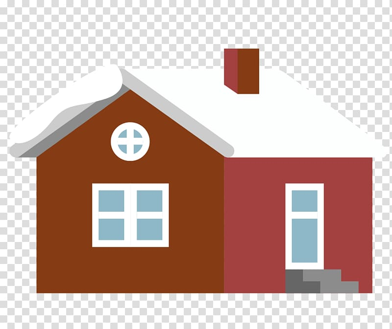 Building House Roof, wooden house building roof snow.