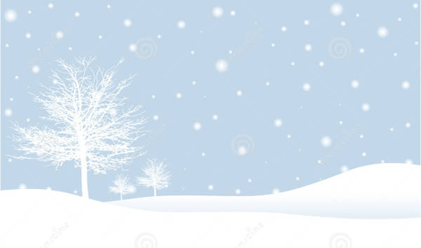 Snow scenery clipart 5 » Clipart Station.