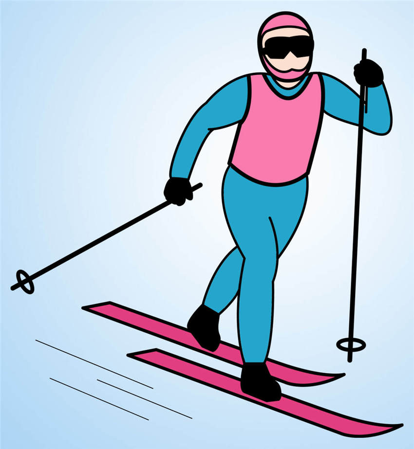 Skiing Clipart Snow Ski Download.