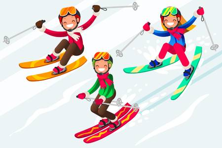 Snow skiing clipart 6 » Clipart Station.