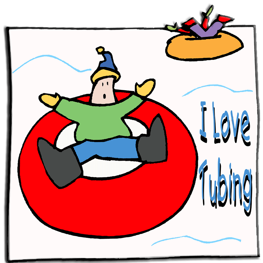 Tubing Clipart.