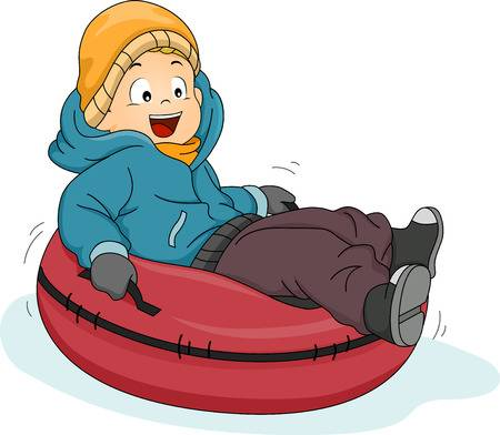 Snow Tubing Clipart (104+ images in Collection) Page 1.