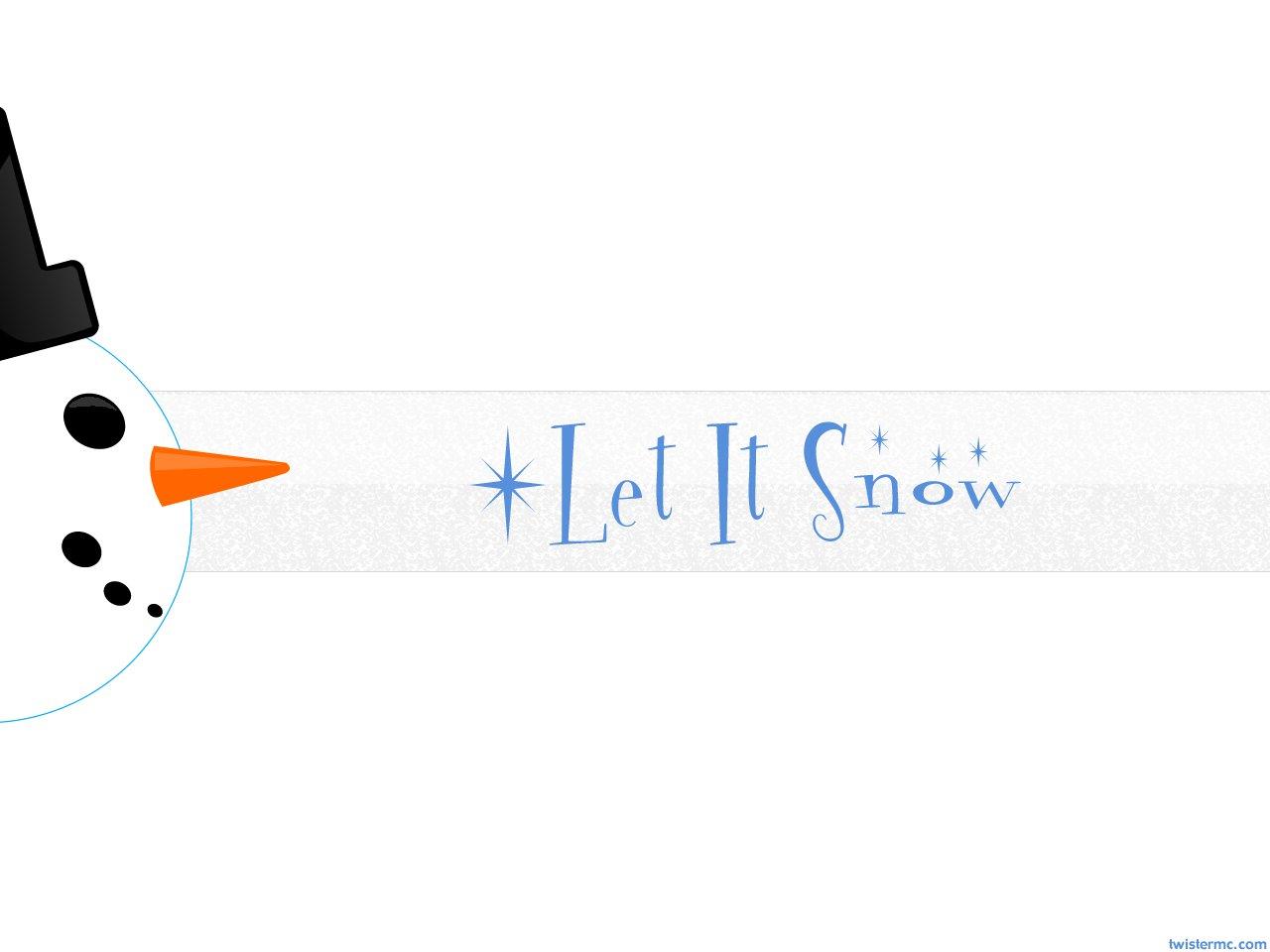 Let It Snowman by TwisterMc on DeviantArt.