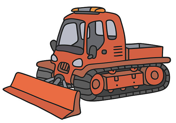 Snow Vehicle Clip Art, Vector Images & Illustrations.